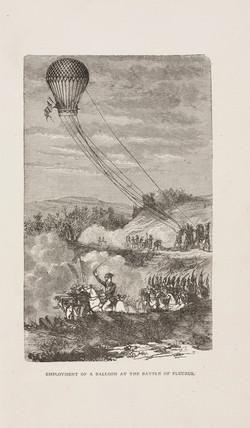 'Employment of a Balloon at the Battle of Fleurus', Belgium, 26 June 1794.