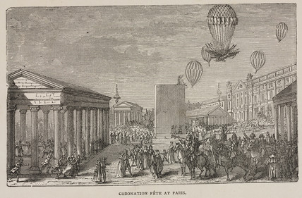 'Coronation Fete at Paris', 3 December 1804.