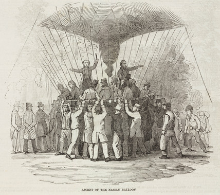 'Ascent of the Nasau Balloon', 1844-1852.