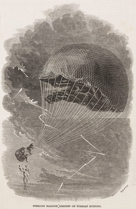 'Perilous Balloon Descent on Tuesday Evening', 1844-1884.