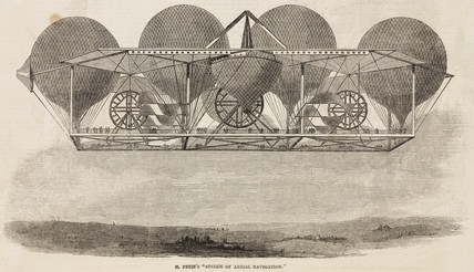 'Mr Petin's 'System of aerial Navigation'', 1844-1884.