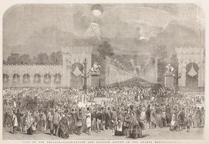 'Fete of the Emperor', 1852-1870.