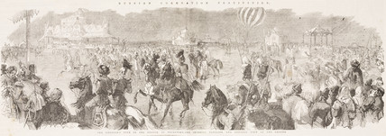 'Rusian Coronation Festivities', 1844-1884.