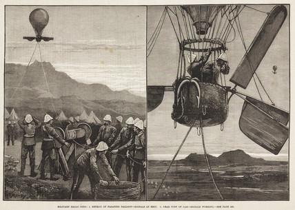 'Military Ballooning', 1844-1884.