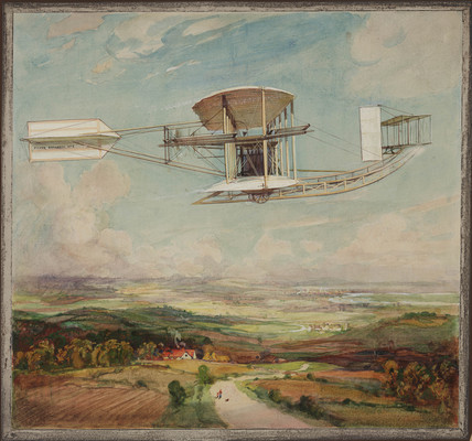 Moore-Brabazon No 5 aeroplane, 1910.