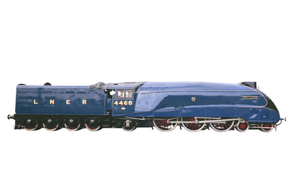 'Mallard', London & North Eastern Railway locomotive no 4468, 1938.