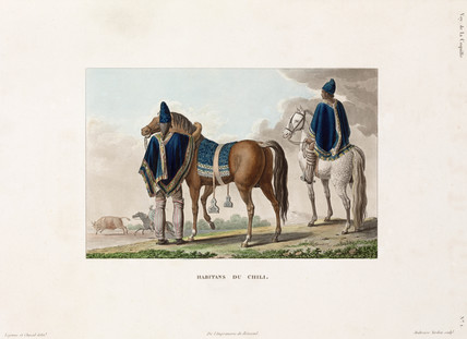 Inhabitants of Chile, 1822-1825.