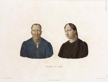 Indigenous people of Peru, 1822-1825.