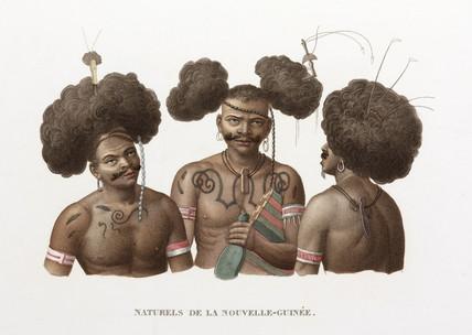 'Natives of New Guinea', 1822-1825.