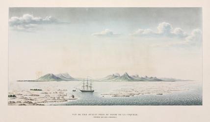 Oualan island in the Caroline Islands archipelago, Micronesia, 1822-1825.
