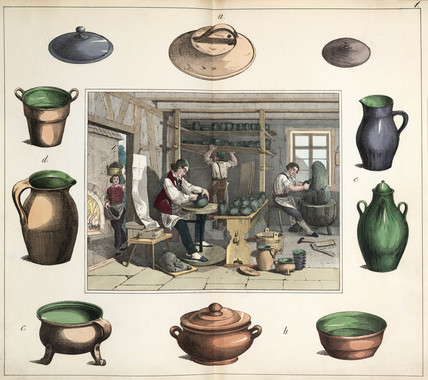 The potter, 1849.