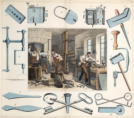 The lock maker, 1849.