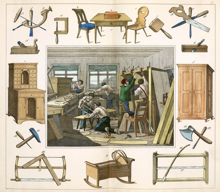 The joiner, 1849.