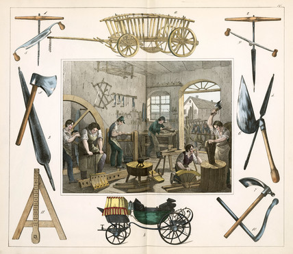 The wagonmaker, 1849.