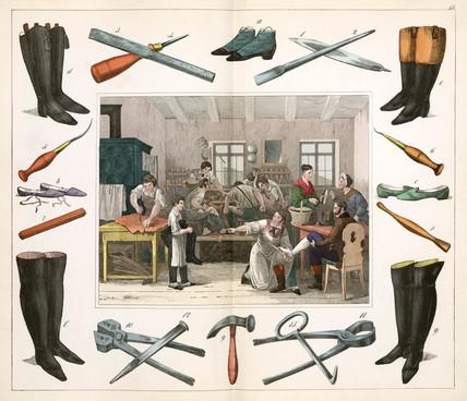 The shoemaker, 1849.