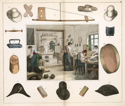 The milliner, or hat maker, 1849.