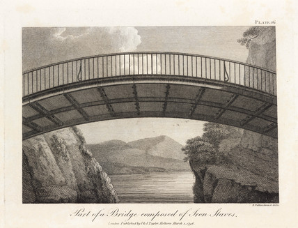 'Part of a bridge composed of Iron Staves', 1796.