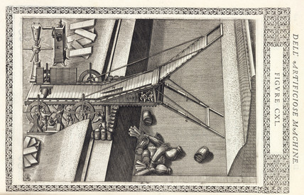 Machine for bridging a moat, 1588.