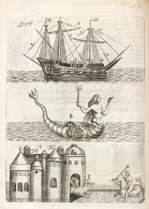 Water-borne firework devices, 1635.