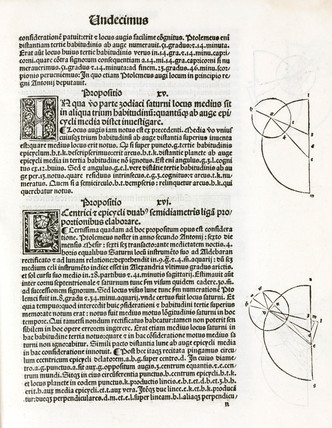 Epicycles described in Ptolemy's 'Almagest', 1496.
