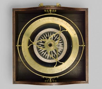 Mariner's compas, c 1700s.