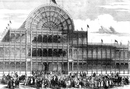 Crystal Palace, Hyde Park, London, 1851.