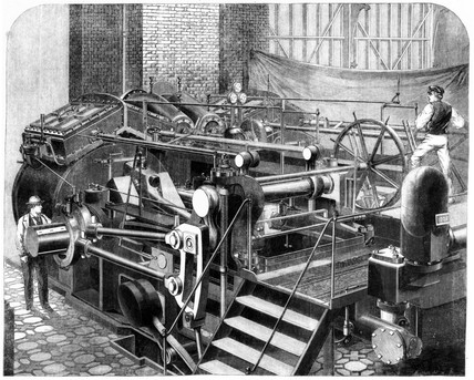 Maudslay marine engine, International Exhibition, London, 1862.