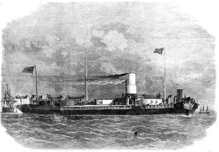 HMS 'Royal Sovereign', 1864.
