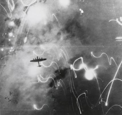 Avro Lancaster heavy bomber, World War Two, 1939-1945.