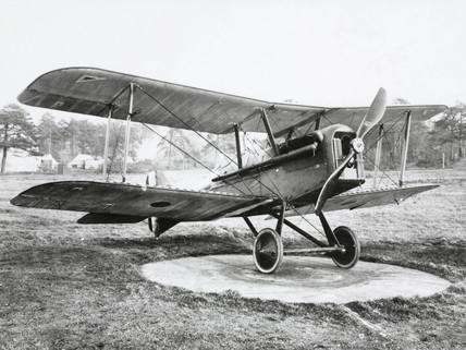 Royal Aircraft Factory SE5a, c 1917.