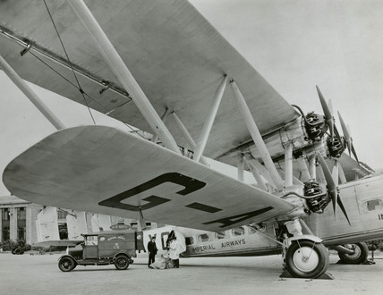 Handley Page 'Horatius', Croydon Airport, Greater London, c 1930s.