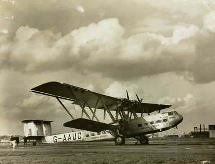 Handley Page 42 G-AAUC 'Horsa', 1930s.