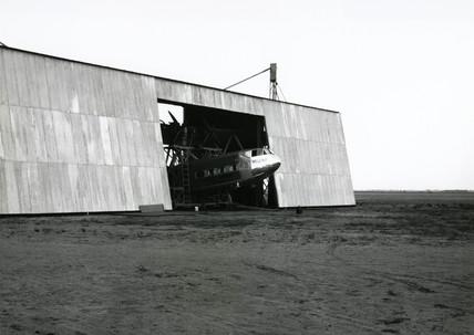 HP42 G-AAXF 'Helena' undergoing maintenance, 1930s.