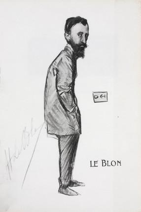 Hubert Le Blon, 1909.