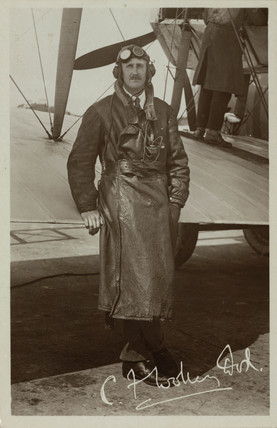 Imperial Airways pilot, c 1929.