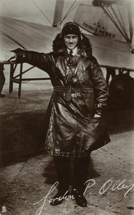 Imperial Airways pilot, Gordon P Olley, c 1929.