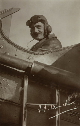 Imperial Airways pilot, Frederick F Minchin, c 1926.