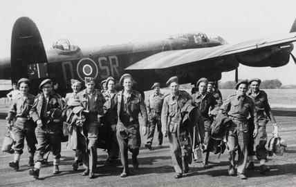 Avro Lancaster bomber, May 1945.