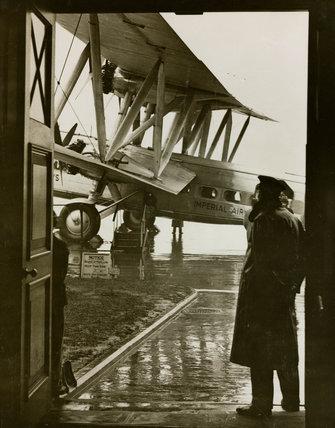 Handley Page HP42 at Croydon Airport, 1930s.
