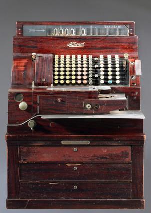 National cash register, c 1930.