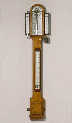 Fitzroy's storm barometer, English, 1871-1880.