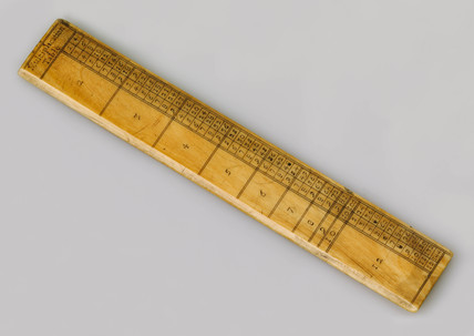 Multiplication table aide Memoire, 1701-1730.