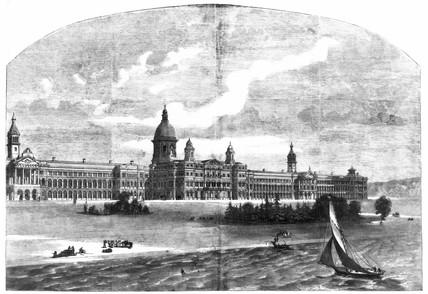 Royal Victoria Hospital, Netley, Southampton, 1859.
