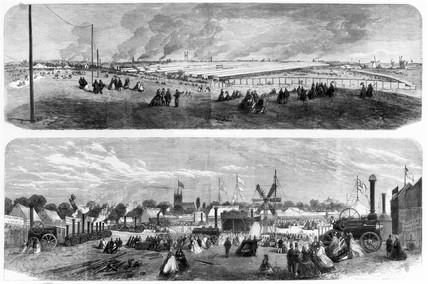 Royal Agricultural Society at Newcastle, 1864.