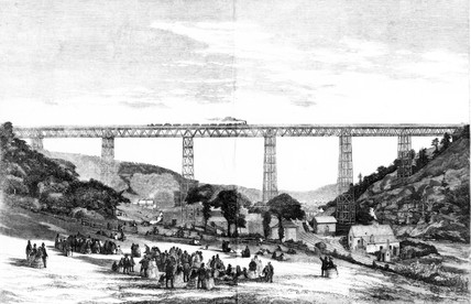 Great Crumlin Viaduct, 1857.
