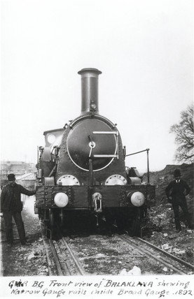 'Balaklava', GWR broad gauge locomotive, 1892.