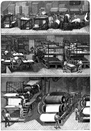 Ingram rotary machine, London, 1879.