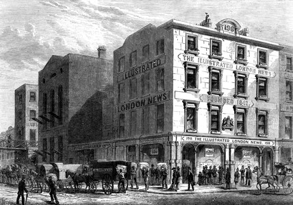 Illustrated London News Office, London, 1879.