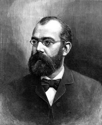 Dr Robert Koch, German bacteriologist, 1890.