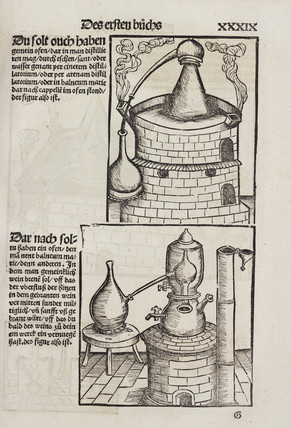 Distillation furnaces, 1512.